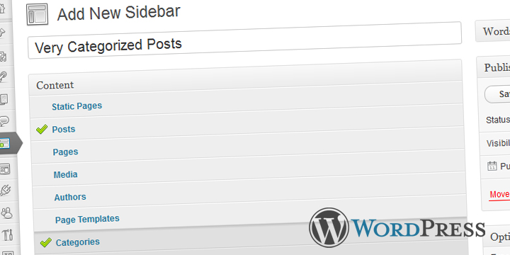 Content Aware Sidebars for WordPress